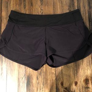 Pants - Black Lululemon Speed Shorts